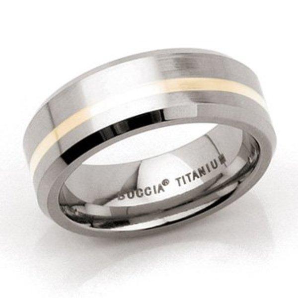 Boccia Boccia titanium ring 0114-01