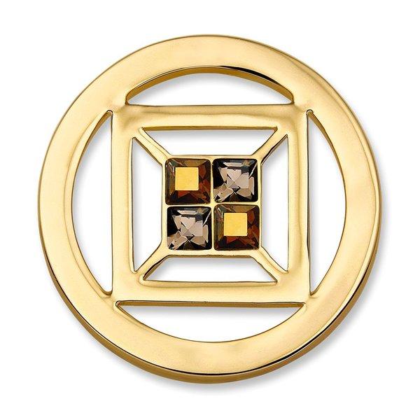Mi Moneda Mi-Moneda Münze Cubo Small Gold