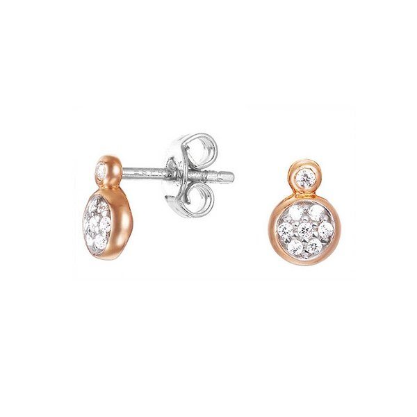 Esprit Esprit oorstekers Charming Grace bicolor ESER92703A000