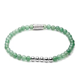Rebel and Rose Rebel & Rose Shades of Jade - Silver damesarmband RR-40035-S