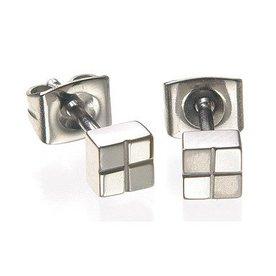Boccia Boccia titanium oorstekers 0518-01