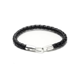 Rebel and Rose Rebel & Rose Round Braided Hook Black RR-L0017-S