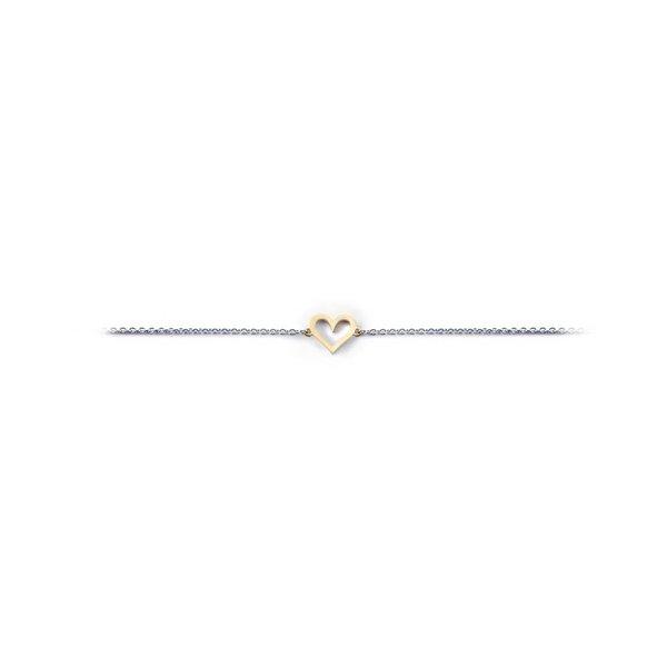 Miss Spring Miss Spring armband Tiny Heart MSA161ZV/GG