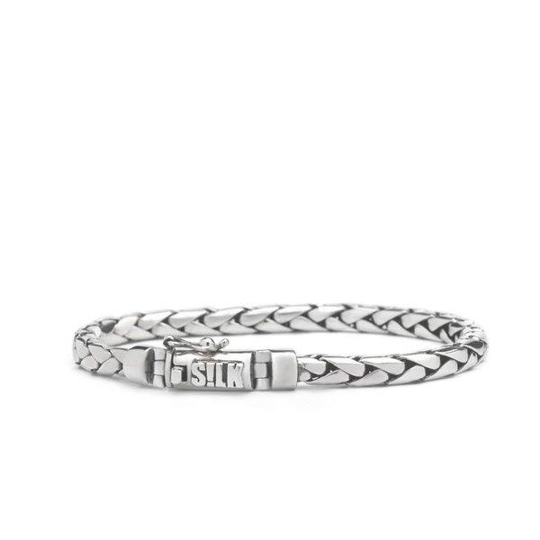 Silk S!lk zilveren armband 392