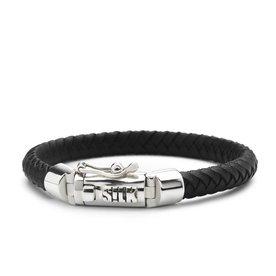 Silk S! Lk Armband Shiva 853BLK