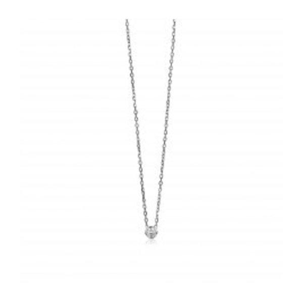 61b63947bc6 Zinzi zilveren collier met zirkonia zic1393 - Sieraad Bestellen