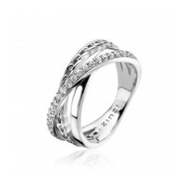 Zinzi Zinzi zilveren ring zir1360