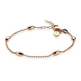 Zinzi Zinzi zilveren armband rosé  ovaal ZIA1232R