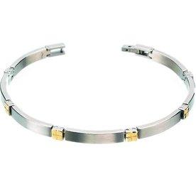 Boccia Boccia titanium armband 0329-04