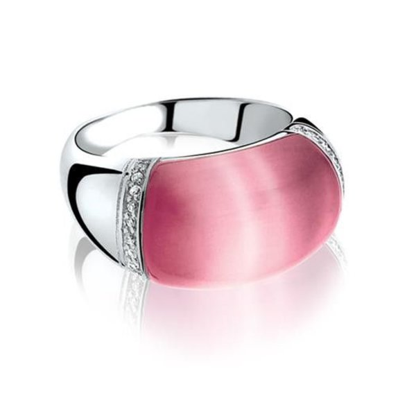 Zinzi Zinzi Silberring rosa ZIR794 Größe 56