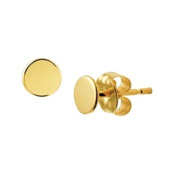 Gold earrings 40.19058
