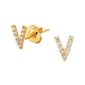 Golden earrings 40.19063