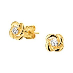 Gold earrings 40.19081