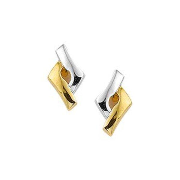 Gold earrings 40.19088