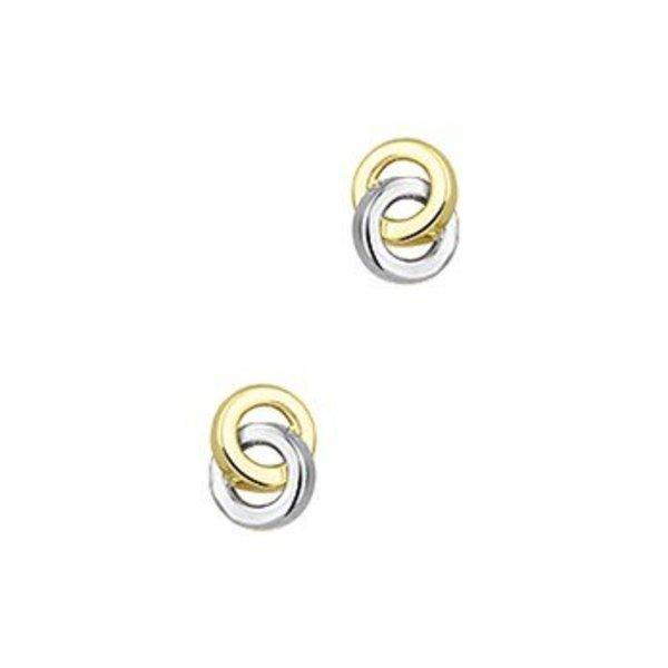 Gold earrings 40.19089