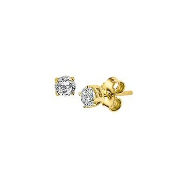 Gold earrings 40.18253