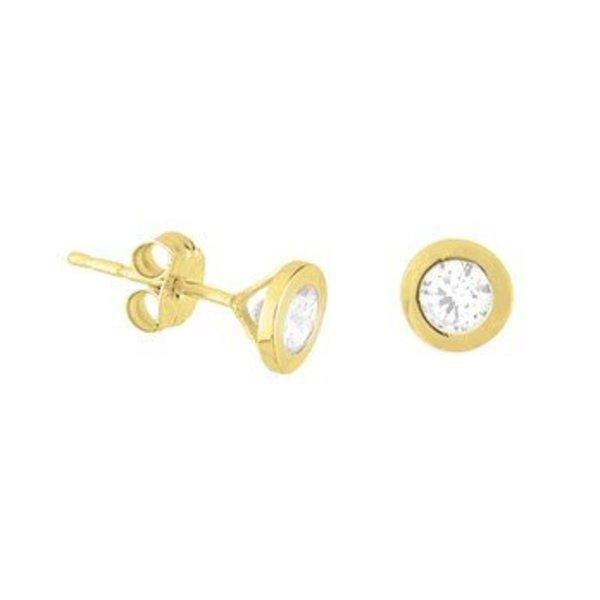 Gouden oorknoppen 40.18266