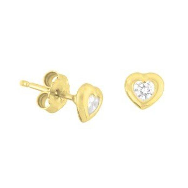 Gold earrings 40.18267