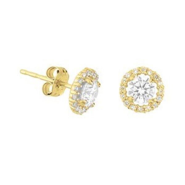Gold earrings 40.18272