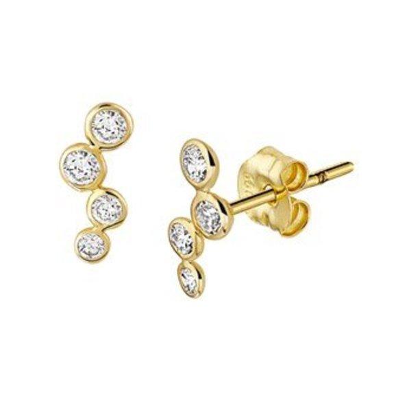Golden earrings 40.18276