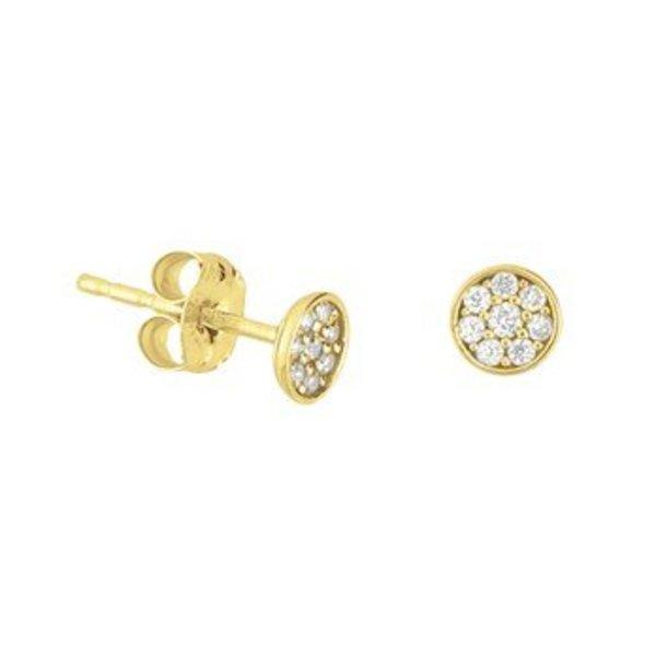 Gouden oorknoppen 40.18286