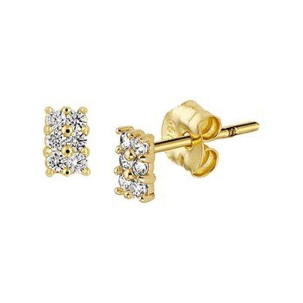 Gold earrings 40.18290