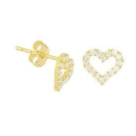 Gold earrings 40.18293