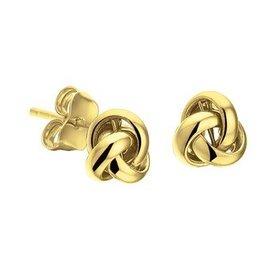 Gold earrings 40.18300