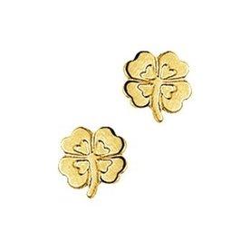 Gold earrings 40.18287