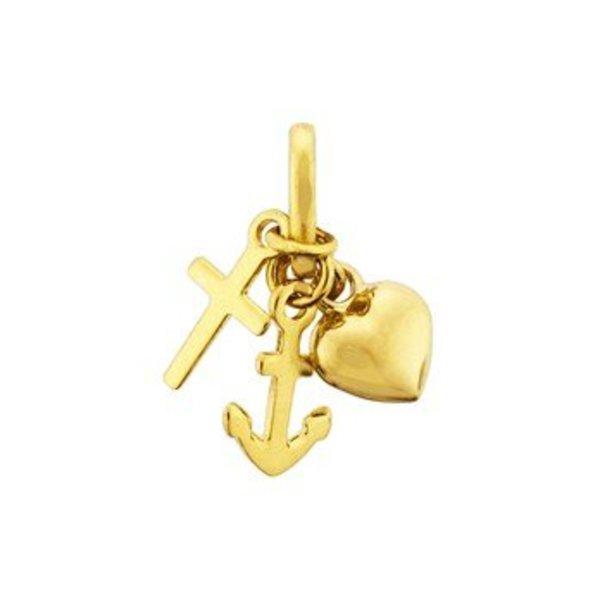 Gouden hanger 40.18521