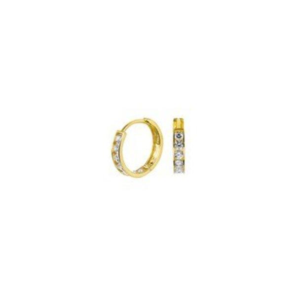 Gold earrings 40.18302