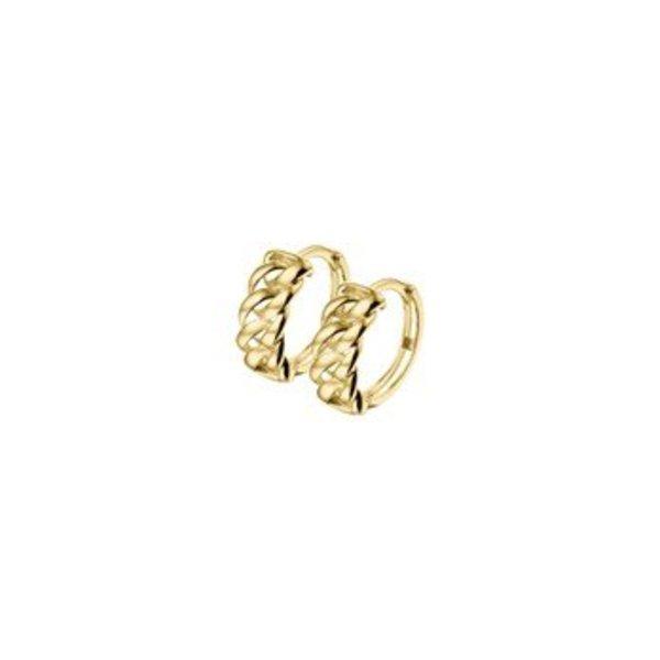 Gouden creolen 40.18309