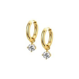 Gold earrings 40.18670