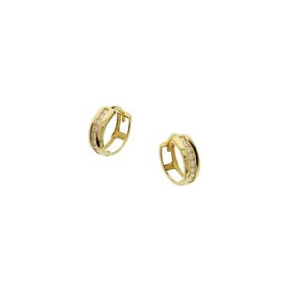 Gold earrings 40.18312