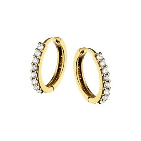 Golden earrings 40.18317