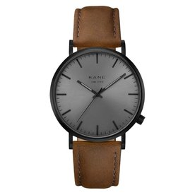 Kane watches Kane men's watch black out vintage brown BO050