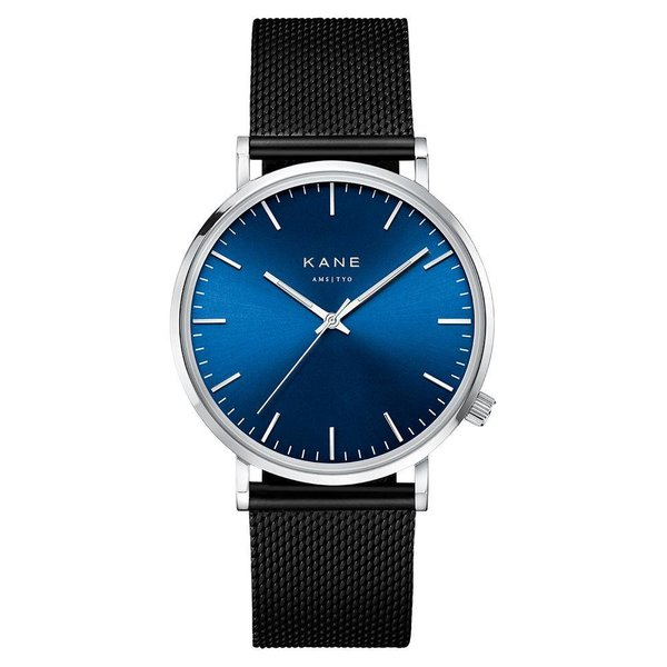 Kane watches Kane men's watch blue arctic black mesh SA100