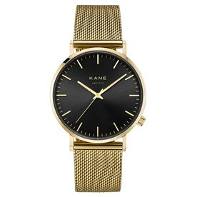 Kane watches Kane mens watch gold club gold mesh GB900