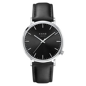 Kane watches Kane herenhorloge black code classic black SB001