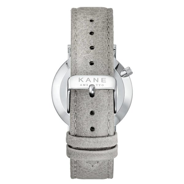 Kane watches Kane herenhorloge silver steel urban grey SS020