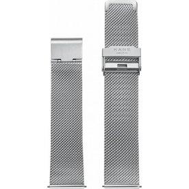 Kane watches Kane horlogeband silver mesh SM500