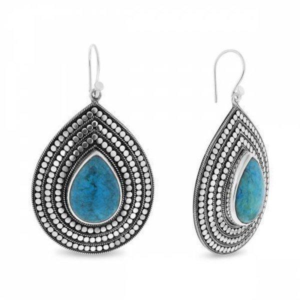 close to zen Close to zen earrings 18004 turqouise