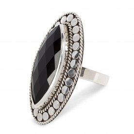 close to zen Close to Zen ring 18004 black onyx
