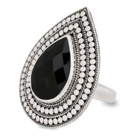 close to zen Close to Zen ring 18003 Black onyx