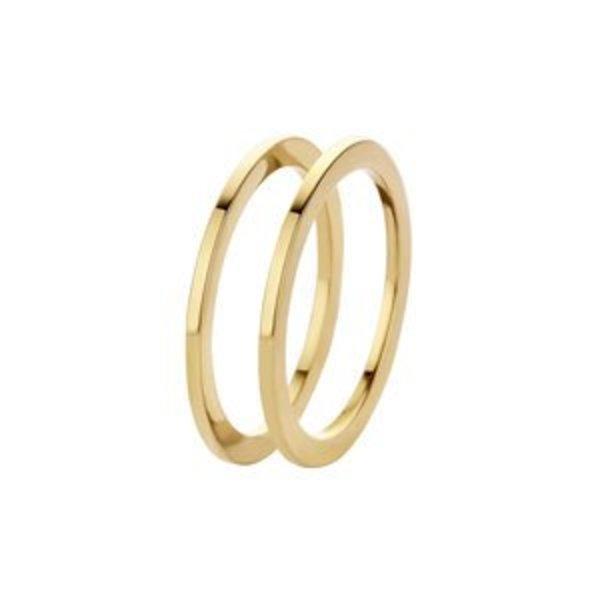 Melano Melano ring sade goud FR16GD000