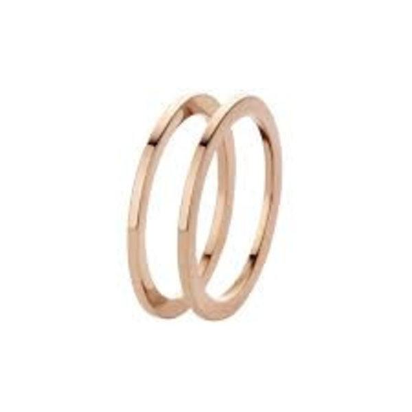 Melano Melano Ring Sade Roségold FR16RG000