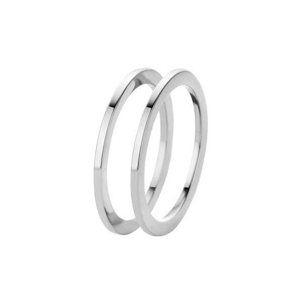 Melano Melano ring sade silver FR16SS000