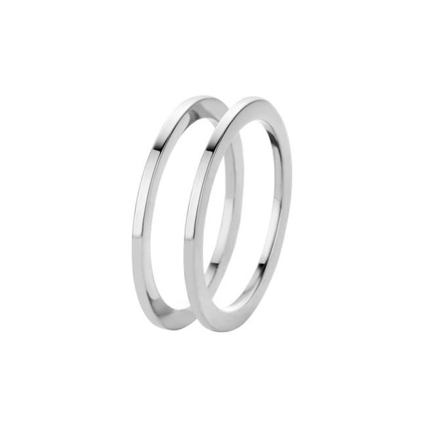 Melano Melano ring sade zilver FR16SS000