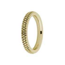 Melano Melano ring sarah engraved gold FR10GD030
