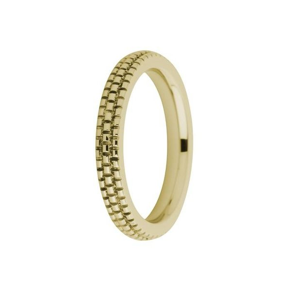 Melano Melano ring sarah engraved gold FR10GD030